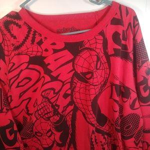 We Love Fine XL Marvel Spider Man Long Sleeve